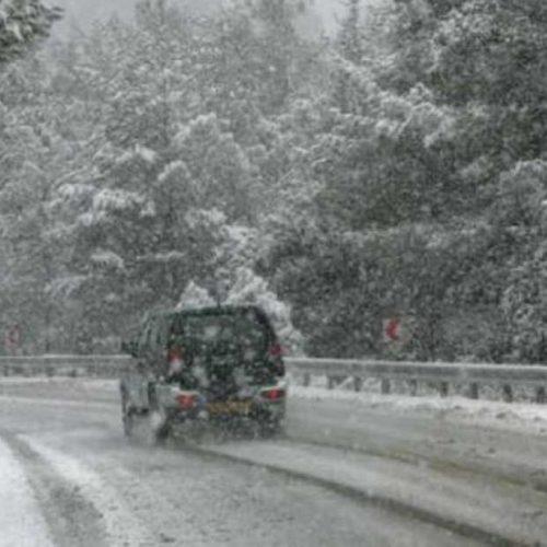Η κατάσταση του οδικού δικτύου στην Κεντρική Μακεδονία. Σάββατο 7 Ιανουαρίου ώρα 13:00 και 14:30