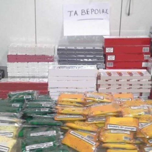 Συνελήφθη 56χρονος στη Βέροια για   λαθρεμπόριο προϊόντων καπνού