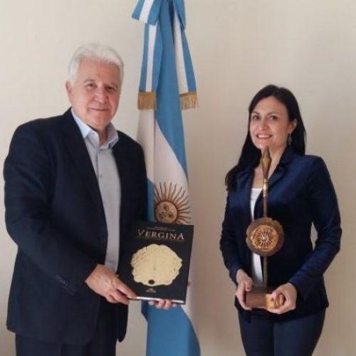 Στην Πρέσβειρα της Αργεντινής ο Γιώργος Ουρσουζίδης