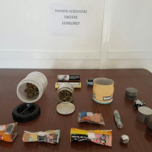 Συλλήψεις για ναρκωτικά σε  Βέροια  και Πέλλα