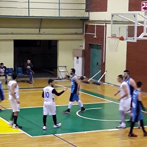 Μπάσκετ: ΓΑΣ Βαφύρας - ΑΟΚ Βέροιας 45-86