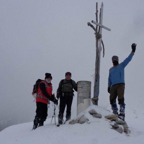 Οκτώ ώρες στο χιονισμένο Βέρμιο από την περιοχή του Αγ. Νικολάου Νάουσας