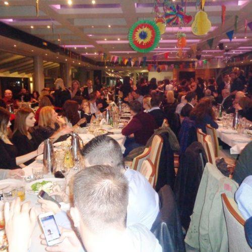 Μεγάλη η συμμετοχή στο χορό του Πολιτιστικού Ομίλου Ξηρολιβάδου
