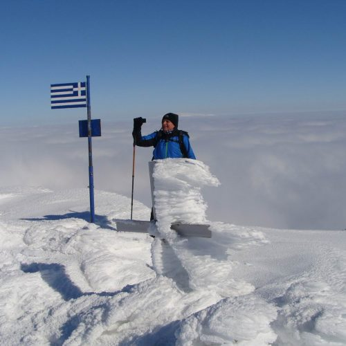 """Ορειβατική Ομάδα Βέροιας """"Τοτός""""- Περπατώντας πάνω από τα σύννεφα για την κορυφή '2.111' του όρους  Άσκιο"""