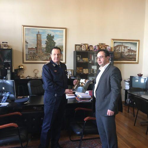 Συνάντηση Δημάρχου Βέροιας με το νέο Αστυνομικό Διευθυντή Ημαθίας