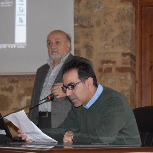 Πραγματοποιήθηκε η ημερίδα Στατιστικής στη Βέροια - Ομιλητής   ο Νίκος Φαρμάκης, αναπληρωτής καθηγητής του τμ.  Μαθηματικών του ΑΠΘ