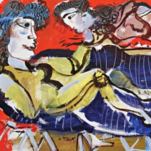 Δημήτρης Μυταράς: Ο ζωγράφος των ανθρώπων  - Ένας αιώνιος έφηβος