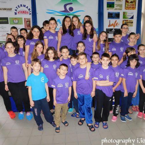 """Κολυμβητική Ακαδημία """"Νάουσα"""":  Γιορτή  κολύμβησης  οι 5οι Αγώνες Κολύμβησης """"Νάουσα 2017"""""""