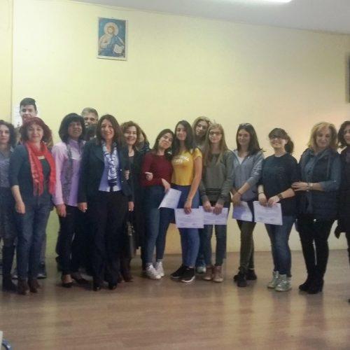 """Ολοκληρώθηκε η   β΄ φάση των """"Μαθητικών Αγώνων Νέας Ελληνικής Γλώσσας Γυμνασίων""""  στην Ημαθία - Το 5ο Γυμνάσιο Βέροιας στην πρώτη θέση"""