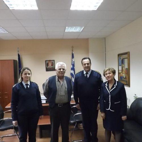 Επίσκεψη του Διευθυντή της Δ.Α. Ημαθίας στον Διοικητή του Γ.Ν. Ημαθίας