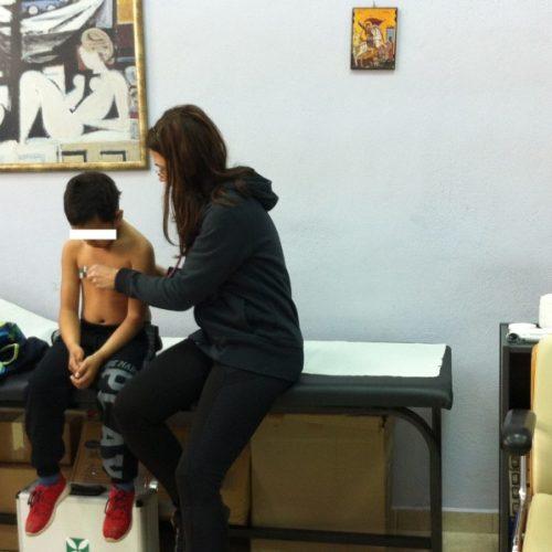 Πραγματοποιήθηκε  στο Δημοτικό Ιατρείο   Βέροιας δωρεάν εμβολιασμός για   παιδιά   άπορων