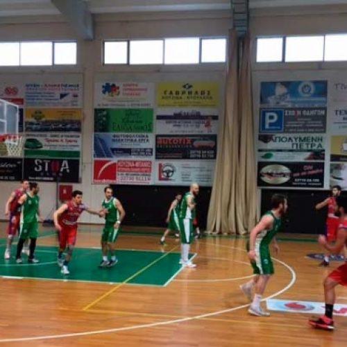 Μπάσκετ: Πολύγυρος - Φίλιππος (66-69)