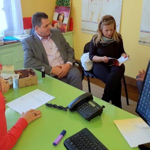 Σύσκεψη εργασίας του αντιπεριφερειάρχη Ημαθίας  με τον θεματικό αντιπεριφερειάρχη Τουρισμού - Πολιτισμού