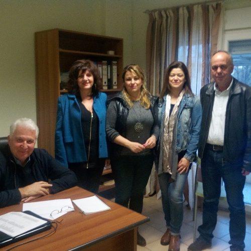 Συνάντηση των βουλευτών του ΣΥΡΙΖΑ Ημαθίας με μέλη του Σωματείου των εργαζόμενων των κέντρων πρόληψης των εξαρτήσεων