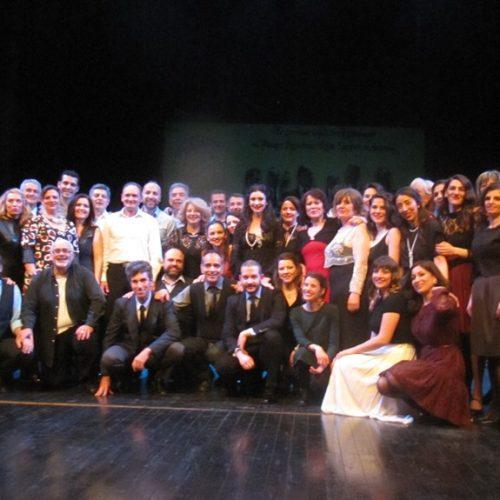 """Το Λύκειο Ελληνίδων Βέροιας και το Τμήμα Λαογραφίας της ΚΕΠΑ πλάι στους εντυπωσιακούς """"Τακίμ"""""""