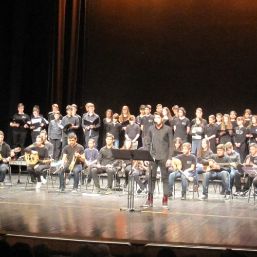 Το Μουσικό Σχολείο Βέροιας γιόρτασε την Επανάσταση του '21  μέσα από το τραγούδι και τη λογοτεχνία