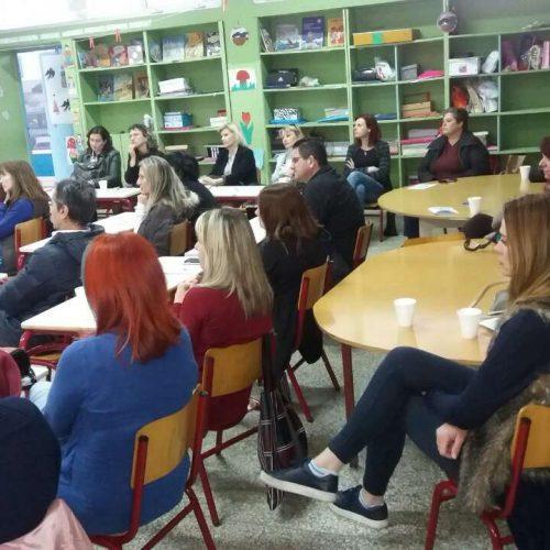Το Κέντρο Συμβουλευτικής Υποστήριξης Γυναικών Δήμου Βέροιας στο 9ο Δημοτικό Σχολείο Βέροιας