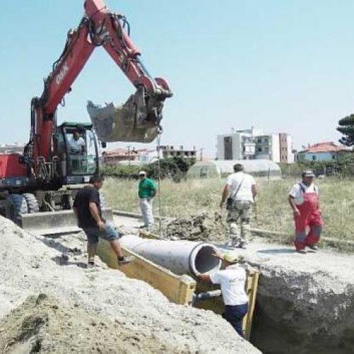 Ολοκλήρωση έργων αποχέτευσης στο νέο ΕΣΠΑ για τους πεδινούς οικισμούς της Νάουσας