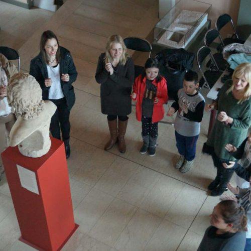 Το Λύκειο   Ελληνίδων Βέροιας στο Αρχαιολογικό Μουσείο