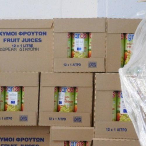 Δωρεάν διανομή φρουτοχυμών από το Δήμο Νάουσας