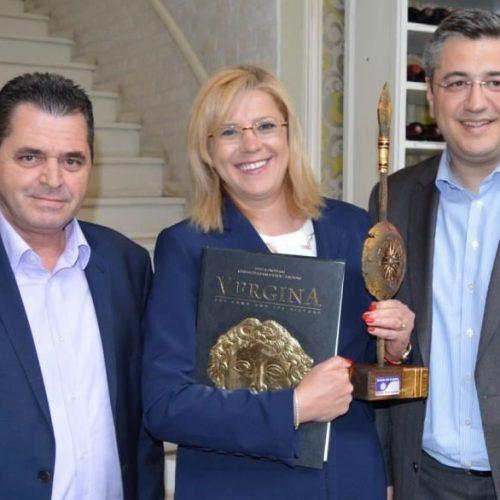 Στην Ημαθία η Επίτροπος Περιφερειακής Πολιτικής της Ευρωπαϊκής Ένωσης Corina Cretu