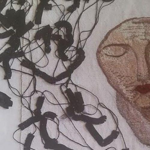 """Γεωργία Τσέου. Έκθεση έργων """"Με ύφασμα και νήμα"""" στη Βέροια"""