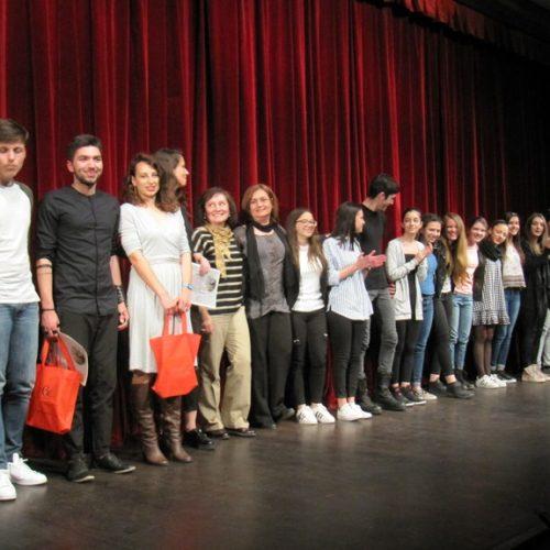 Τελετή απονομής βραβείων και επαίνων της 5ης Θεατρικής Άνοιξης Εφήβων από το ΔΗΠΕΘΕ Βέροιας