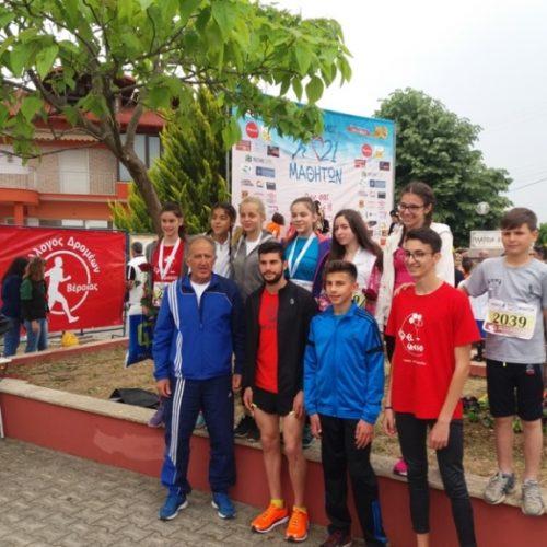 Εντυπωσιακές εμφανίσεις των αθλητών του Φιλίππου στον Αγώνα Μνήμης των 21 Μαθητών του Μακροχωρίου