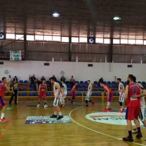 Μπάσκετ: Ερμής Λαγκαδά - Φίλιππος  (76-53)