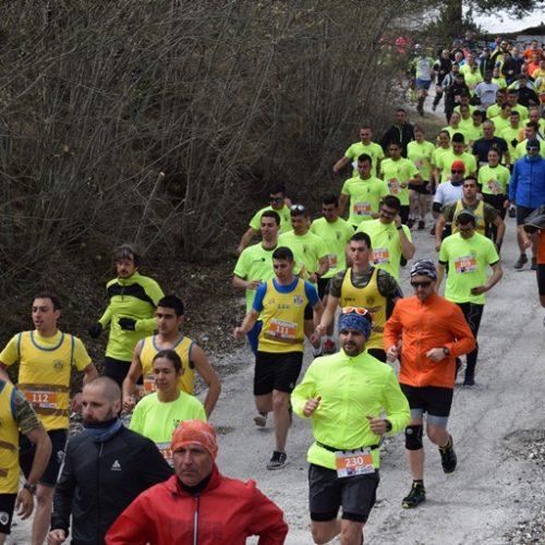 """Με επιτυχία ολοκληρώθηκε ο 1ος ορεινός αγώνας """"Δρόμος Θυσίας"""" στο οχυρό Ιστίμπεη"""