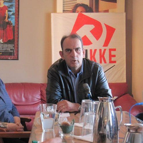 """""""Όχι στη συγκέντρωση της γης στα χέρια των λίγων. Συντονισμός - συμμετοχή - δράση!"""" Συνέντευξη τύπου της  Τ.Ο Ημαθίας του ΚΚΕ για την Αγροτική Πολιτική"""