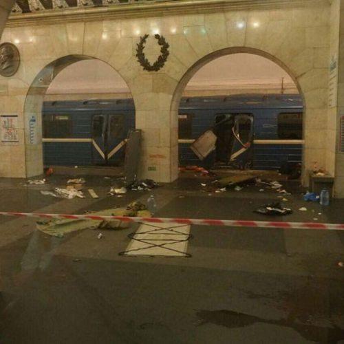 Δεκάδες τα θύματα από την έκρηξη στο μετρό της Αγίας Πετρούπολης