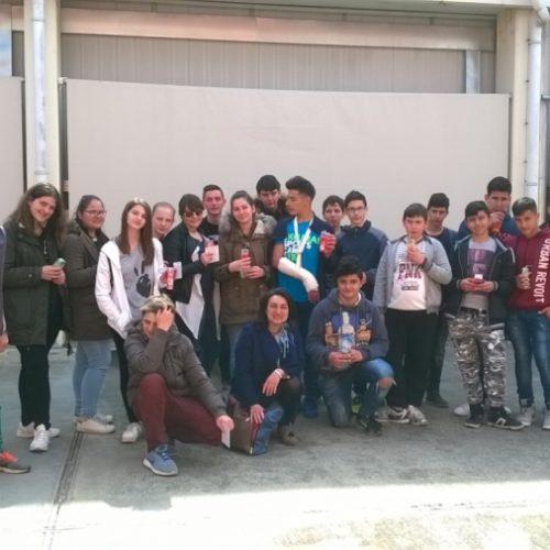 Διδακτική επίσκεψη του Γυμνασίου Επισκοπής σε επιχειρήσεις της περιοχής