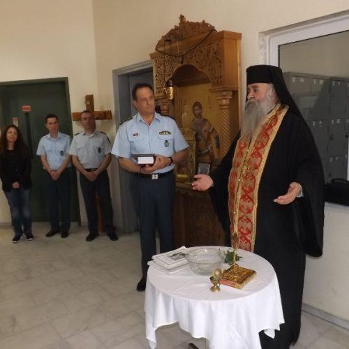 Επίσκεψη του Προϊσταμένου της Υποδιεύθυνσης Θρησκευτικού του Αρχηγείου Ελληνικής Αστυνομίας στη Δ.Α.Ημαθίας