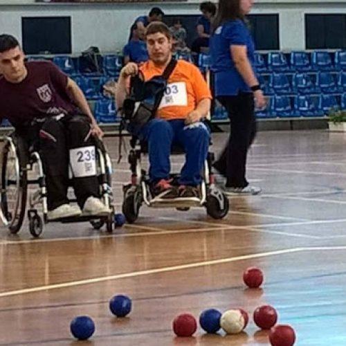 Πανελλήνιο Πρωτάθλημα Boccia 2017 με τη συμμετοχή του   Γιώργου Διαμαντόπουλου