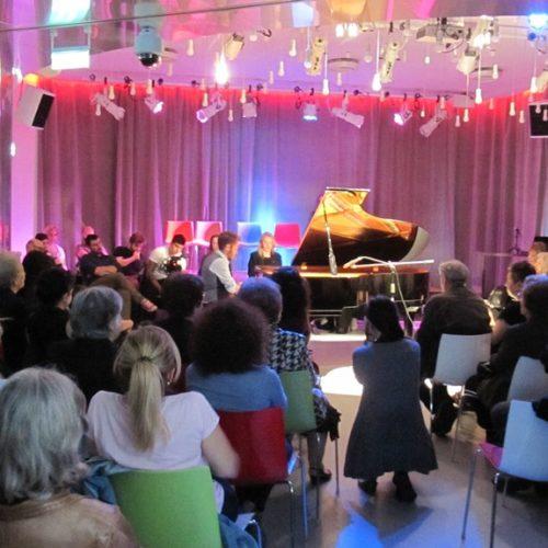Ρεσιτάλ πιάνου του Χρήστου Γεωργουδάκη στη Δημόσια Βιβλιοθήκη Βέροιας μ' ένα πρόγραμμα απαιτήσεων