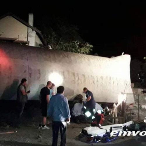 Εκτροχιασμός τρένου έξω από την Θεσσαλονίκη με δύο νεκρούς -video