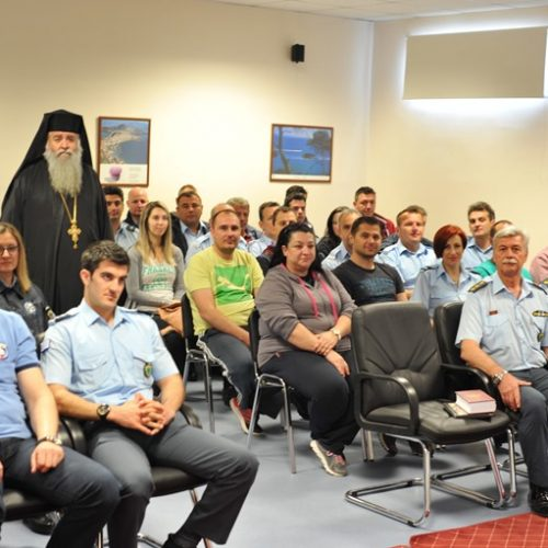 Στη Σχολή της Ελληνικής Αστυνομίας στη Βέροια ο Προϊστάμενος της Θρησκευτικής Υπηρεσίας