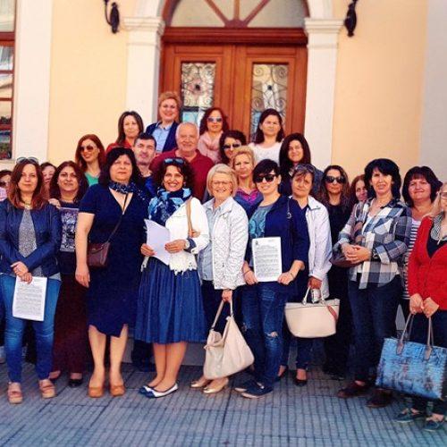 Στάση εργασίας των Δημοτικών Βρεφονηπιακών και Παιδικών Σταθμών του Δήμου Βέροιας