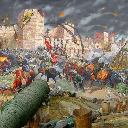 """""""Οι τελευταίες ώρες μιας Αυτοκρατορίας, 29 Μαίου 1453 -  Η άλωση της Κωνσταντινούπολης"""" γράφει ο Βενιζέλος Λεβεντογιάννης"""
