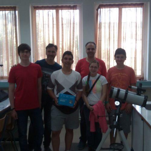 Σημαντική διάκριση του 6ου Γυμνασίου Βέροιας σε ευρωπαϊκό διαγωνισμό αστρονομίας