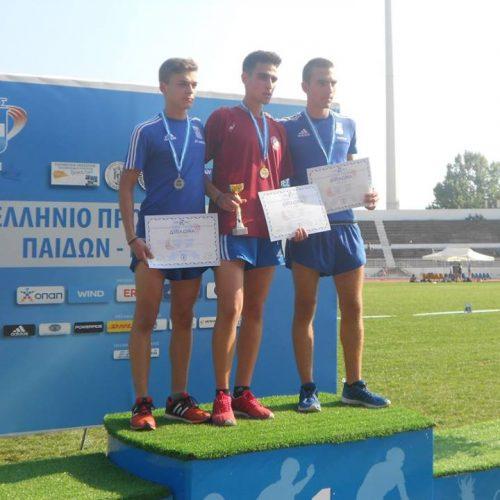 Τρία μετάλλια οι μικροί του Φιλίππου στους Πανελλήνιους. Κελεπούρης - Στάμος - Ιωαννίδου