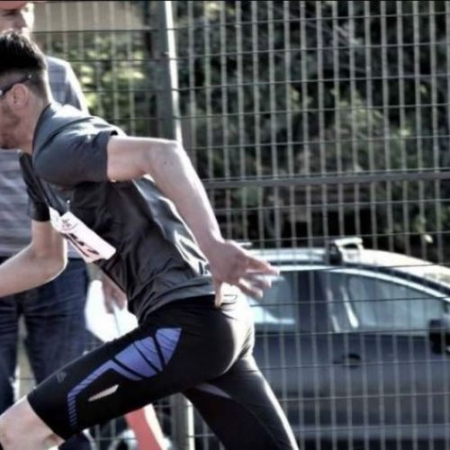 """Εντυπωσιακή εμφάνιση του Κώστα Κουτσούκη στα """"Βενιζέλεια"""" έφτασε στην κορυφή των 400 μέτρων"""