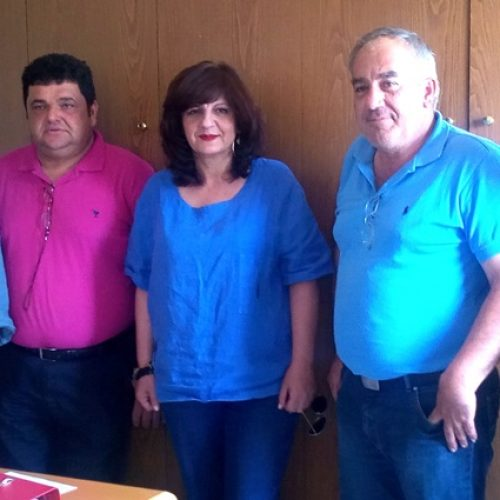 Η βουλευτής Φρόσω Καρασαρλίδου επισκέφθηκε αγροτικούς συνεταιρισμούς