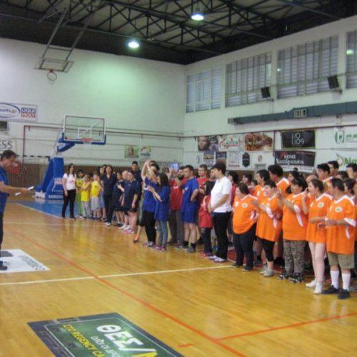Με μεγάλη επιτυχία πραγματοποιήθηκαν οι αγώνες ΑθλοΠΑΙΔΕIΑΣ Καλαθοσφαίρισης Σχολικών Μονάδων Ειδικής Αγωγής