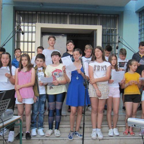 7ο  Δημοτικό Σχολείο Βέροιας – Αποχαιρετώντας τη σχολική χρονιά με τραγούδια και χορούς