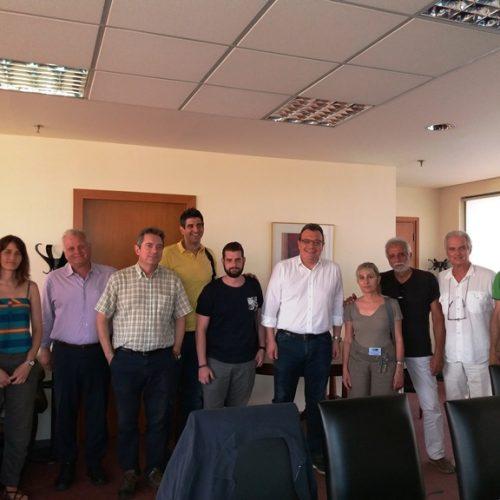 Το Πανελλήνιο Δίκτυο Οικολογικών Οργανώσεων και εκπρόσωποι οργανώσεων είχαν συνάντηση με τον υπουργό Περιβάλλοντος