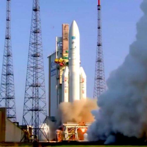 Εκτοξεύτηκε ο μεγαλύτερος ελληνικός δορυφόρος - Βίντεο