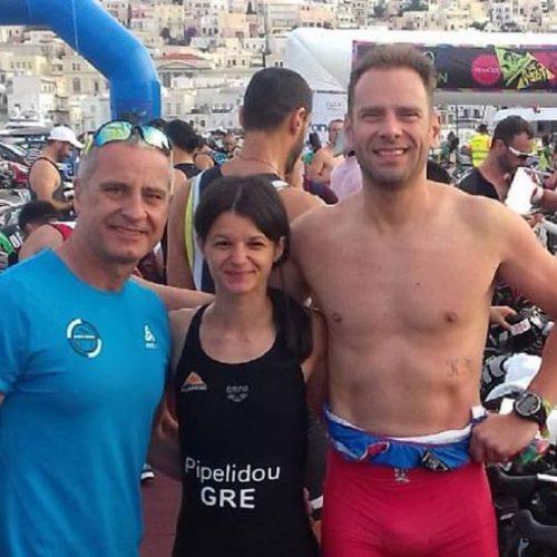 Σύλλογος Δρομέων Βέροιας: 2ος ο Παπαγεωργόπουλος στο tri-more syros triathlon