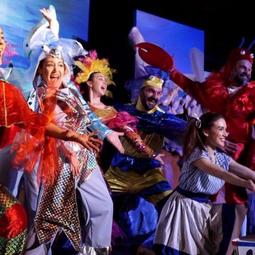 """Παιδική σκηνή   Χρήστου Τριπόδη """"Η Αλίκη στη χώρα των Ψαριών"""". Θέατρο Άλσους, Τρίτη 11 Ιουλίου"""